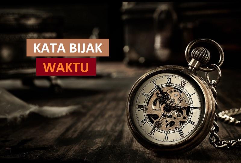 kata bijak tentang waktu