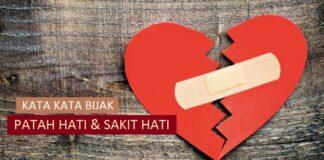 kata bijak tentang patah hati dan sakit hati