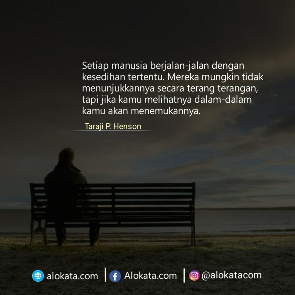 kata bijak tentang kesedihan