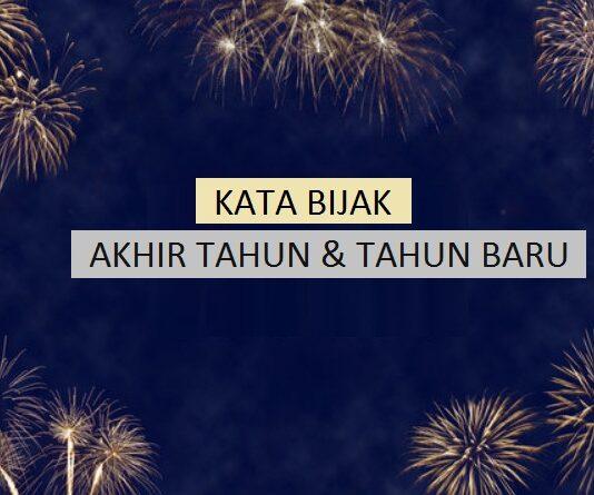 kata bijak akhir tahun dan tahun baru